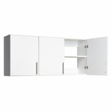 54 Inch Wall Cabinet with 3 Doors - Elite Collection - Prepac Furniture - WEW-5424
