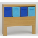 Boy's Headboard in Beech - 4D Concepts - 12301