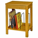 Album Storage / Turntable Stand - ST48 Stand - Cherry - Oak - ST48-OA