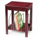 Album Storage / Turntable Stand - ST48 Stand - Cherry - Crosley - ST48-CH