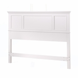 Naples Queen Size Headboard in White - Home Styles - 5530-501