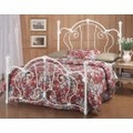 Iron Bed / Metal Bed - Cherie Bed in Ivory Finish - Hillsdale Furniture