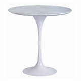 20 Round Saarinen Tulip Table in White - RT-335S-WHITE