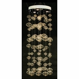 Silver Modern Bubble Ball Chandelier - UR508