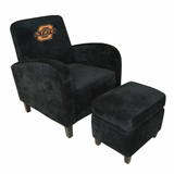 Oklahoma State Den Chair with Ottoman - Imperial International - 125216