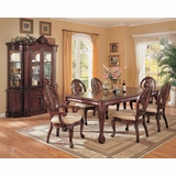 9-Piece Dining Room Furniture Set in Cherry - Coaster - COAST-11010311-DSET-1