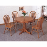 5-Piece Dining Set 2 in Oak - Coaster