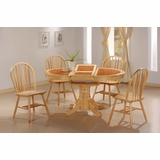 5-Piece Dining Set in Natural - Coaster