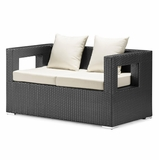 Algarva Outdoor Sofa in Chocolate - Zuo Modern - 701155