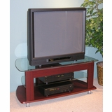 TV Entertainment Stand in Cherry - 4D Concepts - 64603