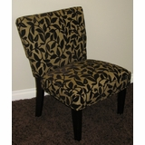 Versize Accent Chair in Two-Tone Burgundy and Olive - 4D Concepts - 72850