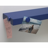 Magnetic Shelves (Set of 2) in Blue - 4D Concepts - 16130