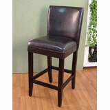 Deluxe Barstool in Brown - 4D Concepts - 555401