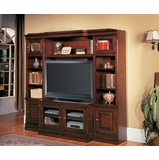 Sterling 4-Piece Entertainment Center Set 2 - Parker House - STE-SET-10