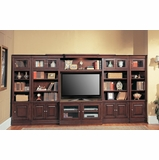 Sterling Library Entertainment Wall Unit 1 - Parker House - STE-SET-8