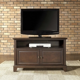 Newport 42 TV Stand in Vintage Mahogany Finish - Crosley Furniture - KF10003CMA
