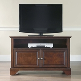 LaFayette 42 TV Stand in Vintage Mahogany Finish - Crosley Furniture - KF10003BMA