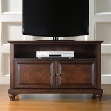 Cambridge 42 TV Stand in Vintage Mahogany Finish - Crosley Furniture - KF10003DMA