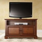 Alexandria 42 TV Stand in Classic Cherry Finish - Crosley Furniture - KF10003ACH