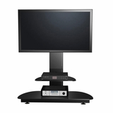 55 Flat Panel Plasma LCD HD Bracket Mount TV Stand / Media Console Center in Glossy Black - TVS-6891000-2