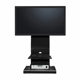 50 Flat Panel Plasma LCD HD Bracket Mount TV Stand / Media Console Center in Glossy Black - TVS-818-14