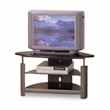TV Stand in Black / Silver - Coaster