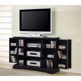 TV Stand in Rich Black - Coaster