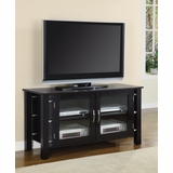 TV Stand in Black - Coaster - COAST-17006341