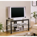 TV Stand in Black / Silver - Coaster - COAST-17006121