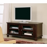 TV Stand with Storage in Cappuccino - Coaster