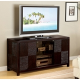 TV Stand in Deep Cappuccino - Coaster