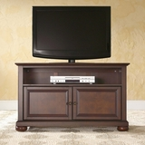 Alexandria 42 TV Stand in Vintage Mahogany Finish - Crosley Furniture - KF10003AMA