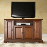 Alexandria 48 TV Stand in Classic Cherry Finish - Crosley Furniture - KF10002ACH