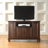 Cambridge 48 TV Stand in Vintage Mahogany Finish - Crosley Furniture - KF10002DMA
