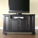 LaFayette 60 TV Stand in Black Finish - Crosley Furniture - KF10001BBK
