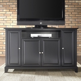 Newport 60 TV Stand in Black Finish - Crosley Furniture - KF10001CBK
