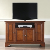 LaFayette 48 TV Stand in Classic Cherry Finish - Crosley Furniture - KF10002BCH