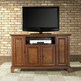 Newport 48 TV Stand in Classic Cherry Finish - Crosley Furniture - KF10002CCH