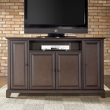 Newport 60 TV Stand in Vintage Mahogany Finish - Crosley Furniture - KF10001CMA