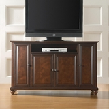 Cambridge 60 TV Stand in Vintage Mahogany Finish - Crosley Furniture - KF10001DMA