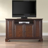 LaFayette 60 TV Stand in Vintage Mahogany Finish - Crosley Furniture - KF10001BMA