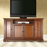 Alexandria 60 TV Stand in Classic Cherry Finish - Crosley Furniture - KF10001ACH