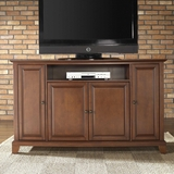 Newport 60 TV Stand in Classic Cherry Finish - Crosley Furniture - KF10001CCH