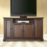 Alexandria 60 TV Stand in Vintage Mahogany Finish - Crosley Furniture - KF10001AMA