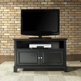 Newport 42 TV Stand in Black Finish - Crosley Furniture - KF10003CBK