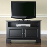 LaFayette 42 TV Stand in Black Finish - Crosley Furniture - KF10003BBK