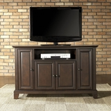 Newport 48 TV Stand in Vintage Mahogany Finish - Crosley Furniture - KF10002CMA