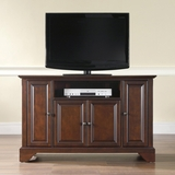 LaFayette 48 TV Stand in Vintage Mahogany Finish - Crosley Furniture - KF10002BMA