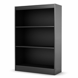 Bookcase in Solid Black - South Shore Furniture - 7270766