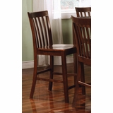 Counter Height Chair (Set of 2) in Rich Walnut - Coaster